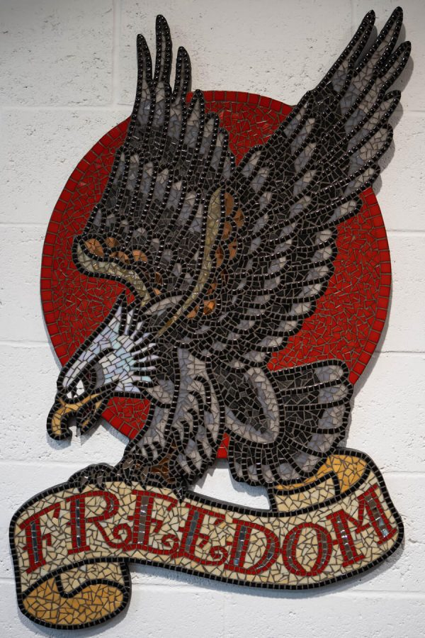 Freedom Eagle Mosaic
